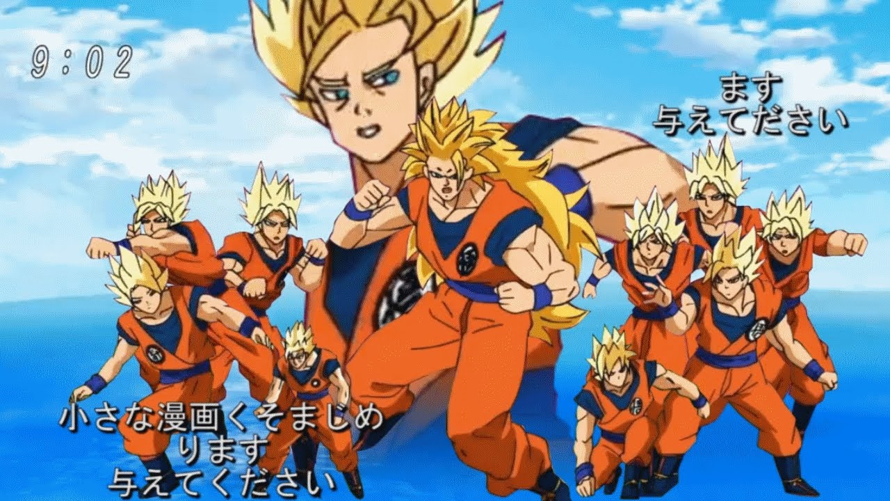 Dragon Ball Super Opening 1 Featuring Bad Animation