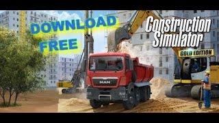CONSTRUCTION SIMULATOR 2016 PC GOLD E. + DOWNLOAD FREE