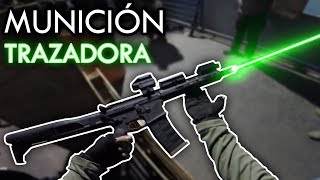 Disparando RAYOS LÁSER‼ #2 ▬ BESO a mi enemigo 💋 ▬ Airsoft Gameplay Scopecam