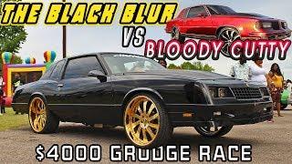 DONKMASTER & THE BLACK BLUR VS BLOODY CUTTY - $4000 Grudge Race- Jackson, TN