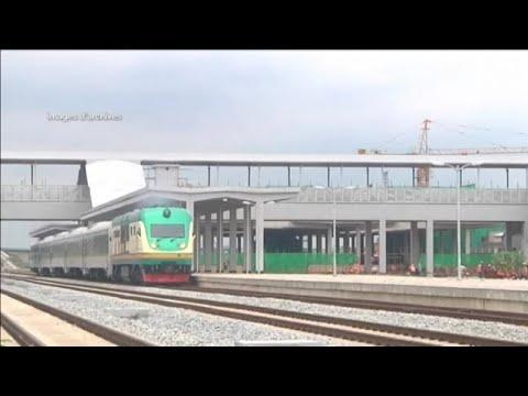 Afrique, LIGNE DE TRAIN ABIDJAN-OUAGADOUGOU
