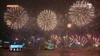 Semarak Perayaan Tahun Baru di Mancanegara