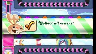 Candy Crush Saga Level 883 walkthrough (no boosters)