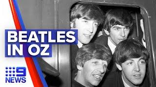 The Beatle's never-before-seen Australian tour broadcasted | 9 News Australia