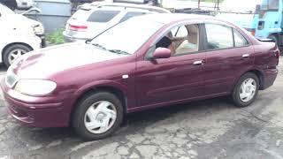 Видео-тест автомобиля Nissan Bluebird Sylphy (FG10-108433 2002г)