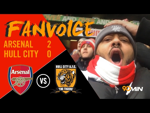 Sanchez scores against Hull, Arsenal in the title race? | Arsenal 2-0 Hull | 90Min FanVoice.
