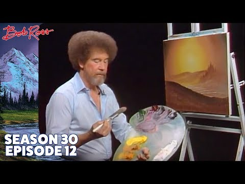 Bob Ross - Evening's Glow (Season 30 Episode 12)