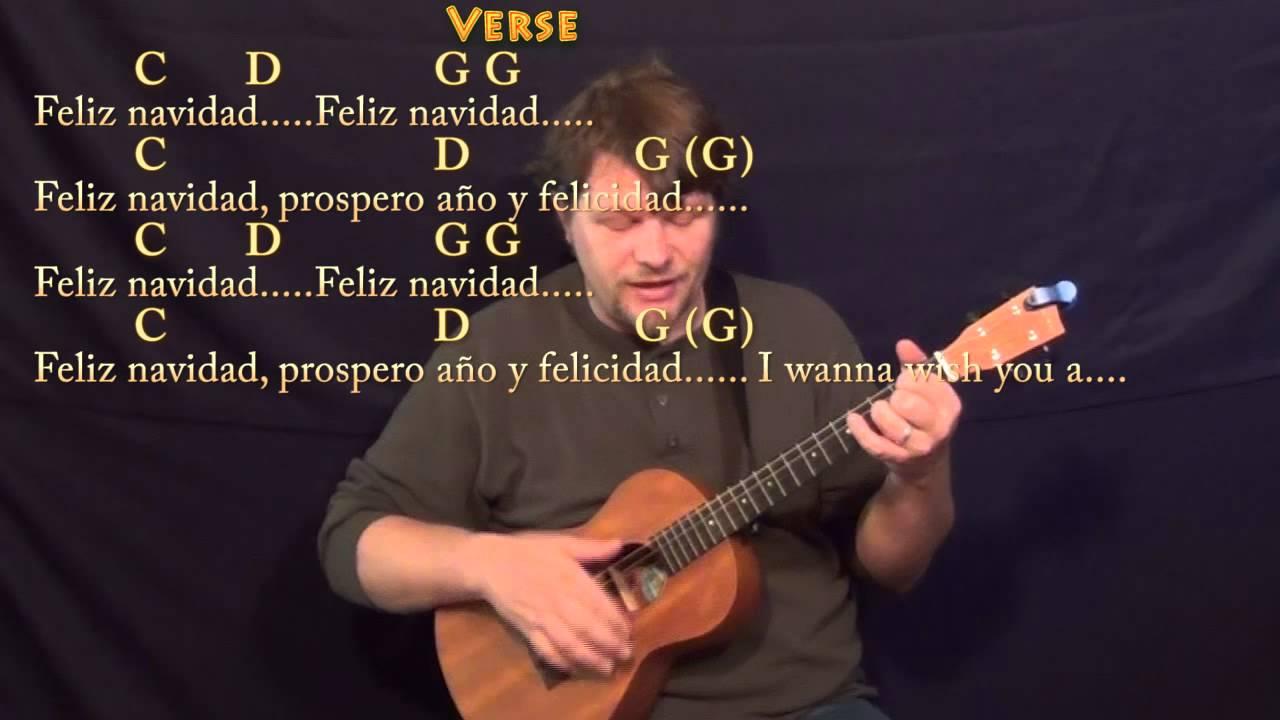 Feliz Navidad Christmas Bariuke Cover Lesson In G With Chords