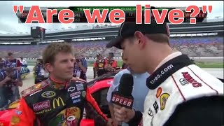 Funniest Driver on Driver Interviews in NASCAR