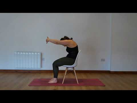 Yoga Osteo Upper Back Stretch