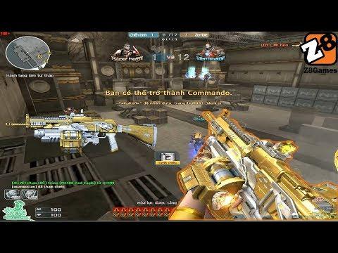 Crossfire NA 2.0 : AK 47 Buster Gold - Hero Mode X - By Rua Ngao Zombie V4