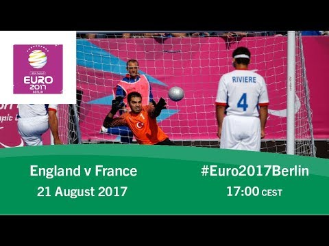 England vs France | IBSA Blind Football European Championships