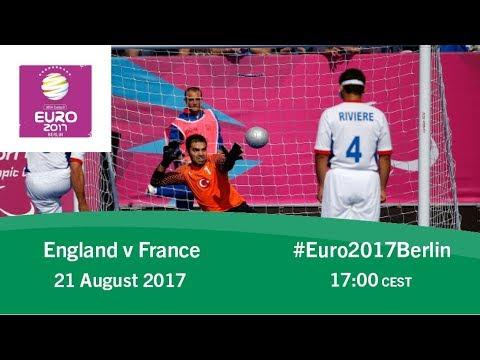 England vs France | IBSA Blind Football European Championships