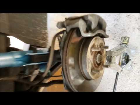 Honda city DIY-Clean ABS Sensor