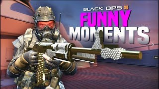 Black Ops 2 Funny Moments - Yodeling Kid, Killcams, Tomahawks!