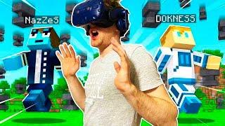 RYWALIZACJA MINECRAFT W GOOGLACH VR