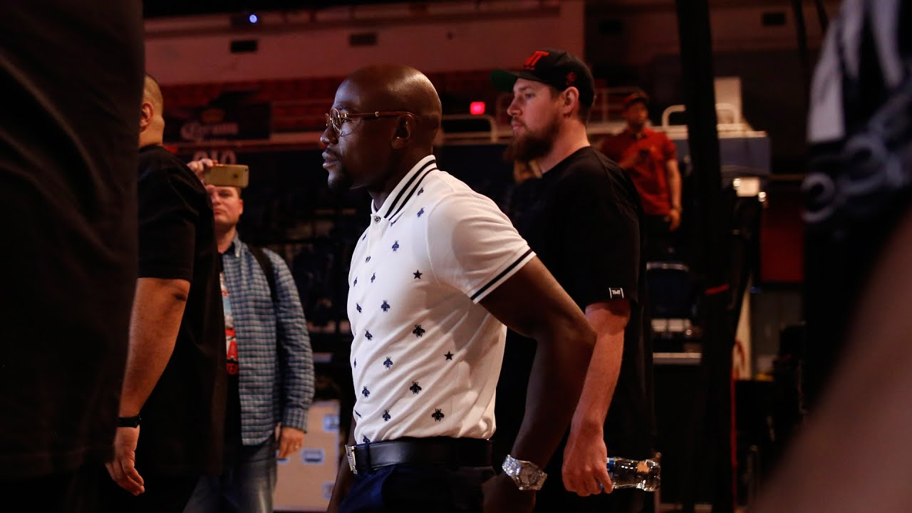 Borges: Conor McGregor vs. Mayweather Jr. all about the business