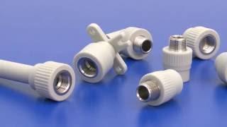 Полипропиленовые трубы и фитинги FV Plast (Чехия)