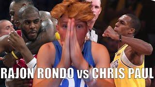 Rajon Rondo vs. CP3 FIGHT REACTION!!