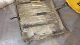 Roadkill 66 Impala Fuel Tank Support Rebuild and Partial Trunk Floor Removal