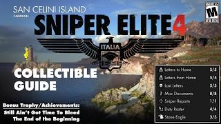 Sniper Elite 4: Level 1 / San Celini Island (Collectible Guide) - HTG
