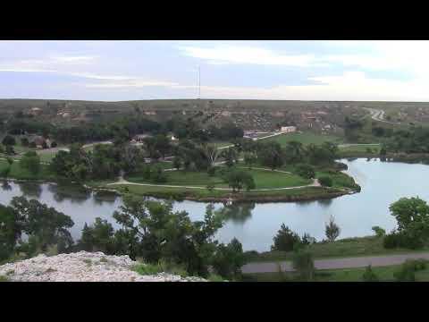 Scott State Fishing Lake - Kansas State Parks - Panoramic