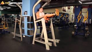 Упражнения на пресс. Подъем ног.(Как научиться самому планировать тренировки? Станислав Линдовер читает курс из 6-ти лекций на сайте http://fitness..., 2011-08-31T10:39:58.000Z)