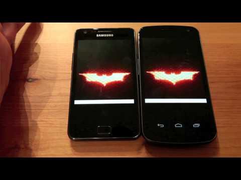 Samsung Galaxy S II vs Samsung Galaxy Nexus Ultimate Side By Side Comparison