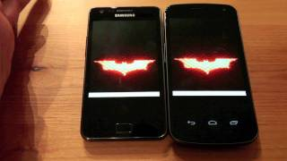 samsung galaxy s ii vs samsung galaxy nexus ultimate side by side comparison