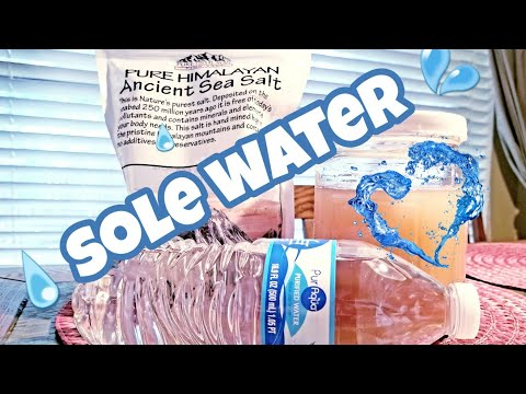 Keto - How To Make Sole Water And It's Benefits