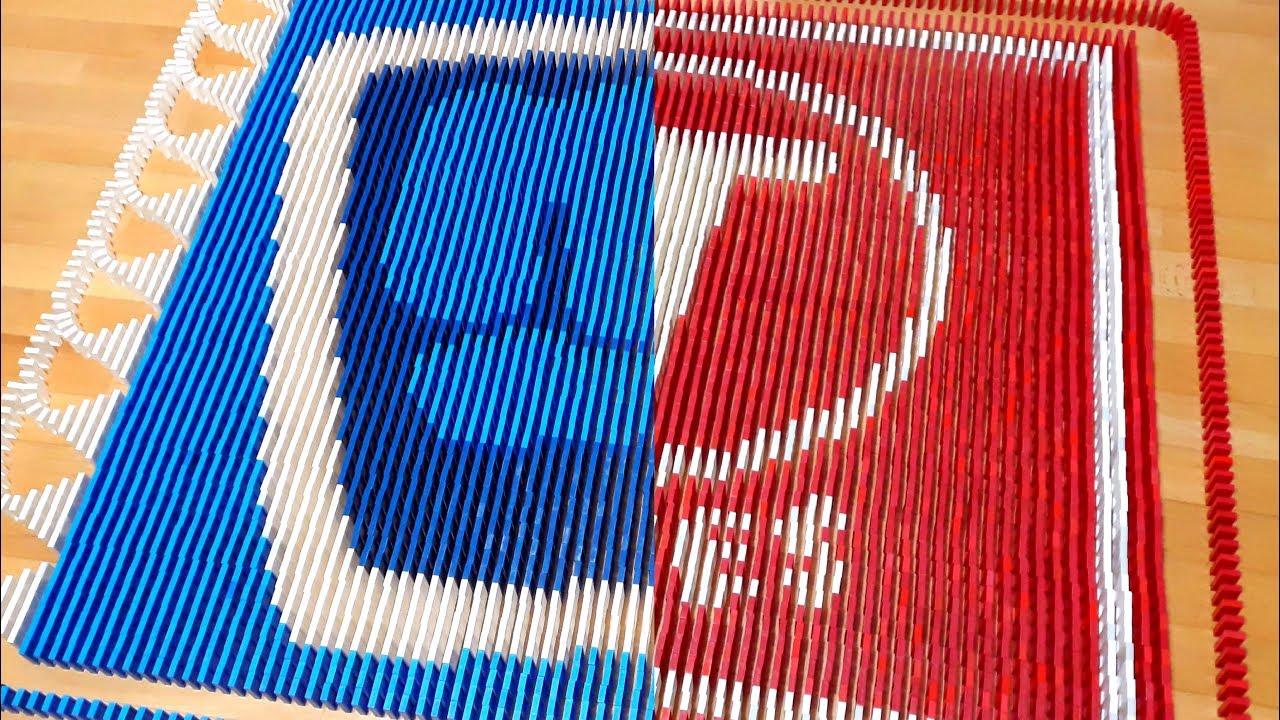 PEWDIEPIE VS T-SERIES | 10,000 Dominoes