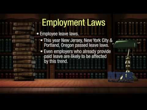 Are You Staying Current on Employment Laws? | NFIB Legal Ease