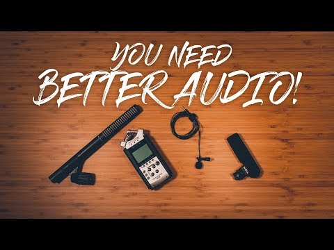How To Get BETTER AUDIO In Your Videos!! [CHOOSE THE RIGHT MICROPHONE]