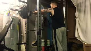 Bulgarian Style Training - Squat, OHP, Weighted Pull Up