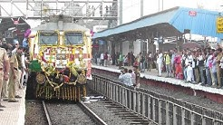 NASHIK WELCOMES #AAPLIRAJDHANI with NASHIK DHOL and RITUALS for the First Time.!!
