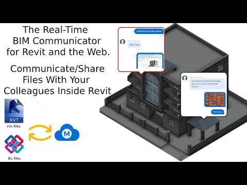 BIM Chat Messenger for Revit | Communicate/Share Files With Your Colleagues Directly Inside Revit