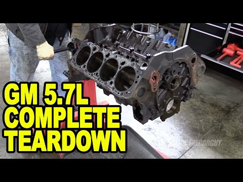 Chevy 5.7L Engine Teardown #ETCGDadsTruck