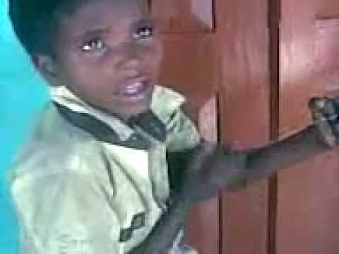 Child Sing a song of sambalpuri fock song Mahula Jhare Barasila Pani