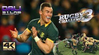 Rugby Challenge 3 PC Gameplay 4K UltraHD 2160p 60fps