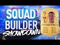 FIFA 19 SQUAD BUILDER SHOWDOWN!!! CRISTIANO RONALDO!!! 94 Rated CR7