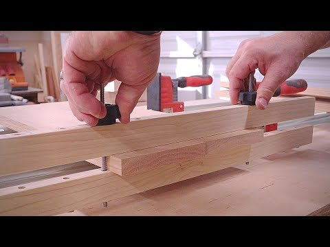Making A Better Clamping Caul - Adjustable Panel Clamp How-To