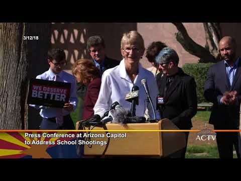 03/12/2018 - Press Conference at Arizona Capitol to Address School Shootings
