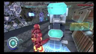 Iron man 2 Wii Gameplay Part 2