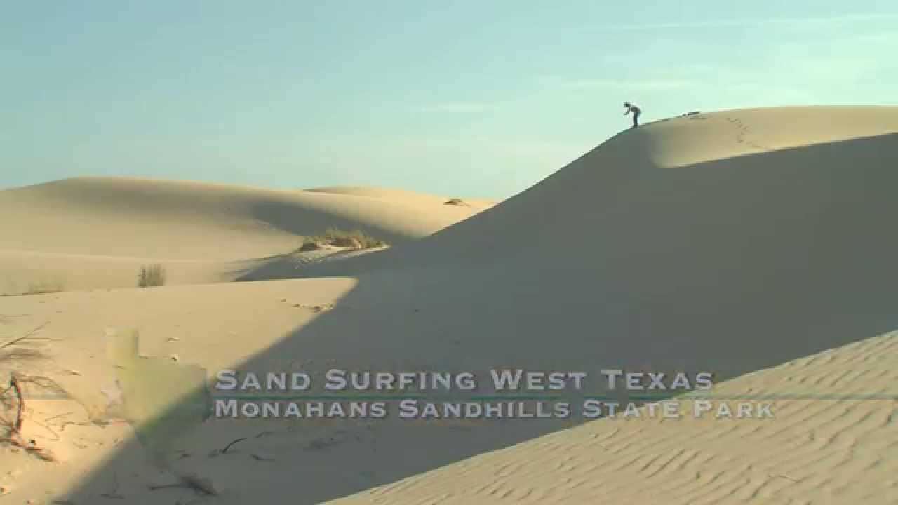 This Is What It S Like To Sand Surf West Texas Texas Parks And Wildlife Official