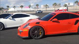 Checking out Supercar line up For DREAM RACING at the Las Vegas Speedway