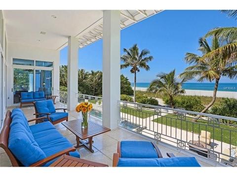 Florida Beach Home 7940 Sanderling Road Siesta Key Luxury Real Estate