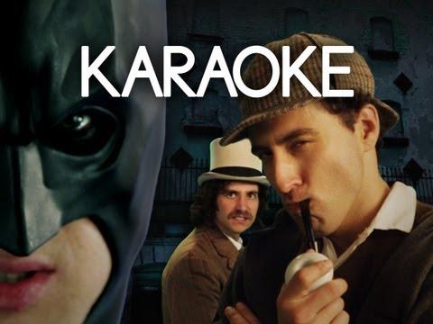 [KARAOKE ♫] Batman vs Sherlock Holmes. Epic Rap Battles of History. [INSTRUMENTAL]