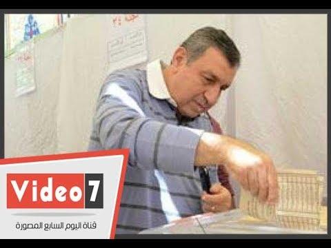 عصام شرف يصوت بانتخابات نقابة المهندسين بالبحر الأعظم  - نشر قبل 9 ساعة