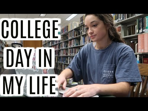 COLLEGE DAY IN MY LIFE: a really rough day