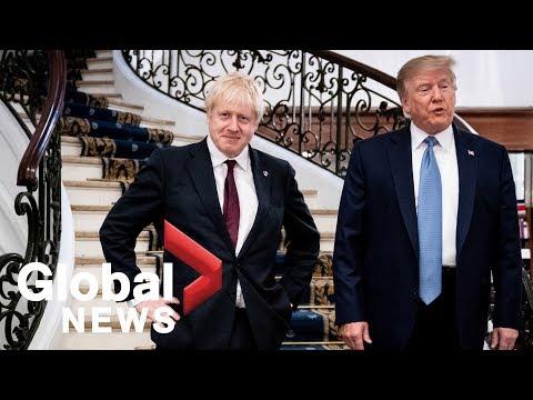 G7 summit: Trump meets with U.K. PM Boris Johnson, says 'very big trade deal' ahead